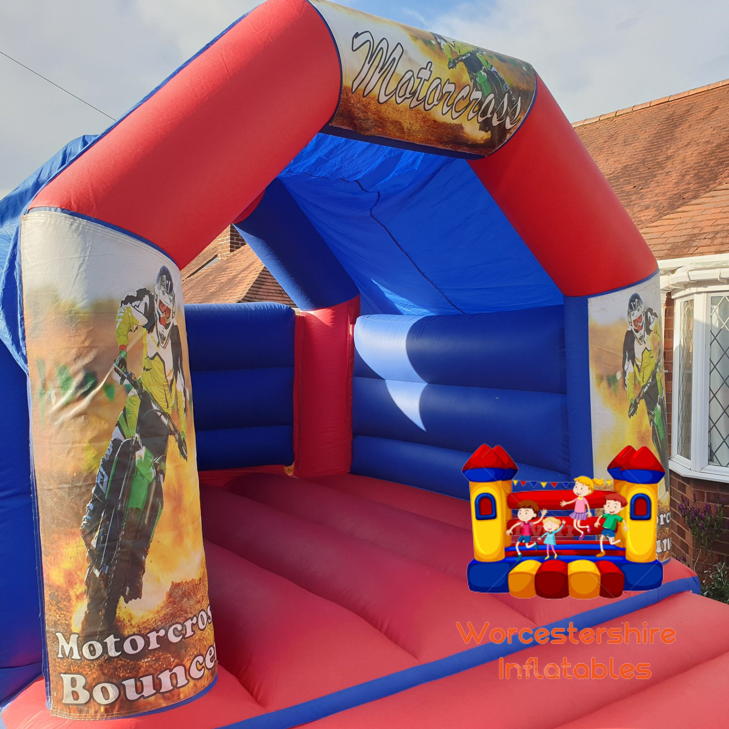 themed bouncy castle - Worcestershire Inflatables