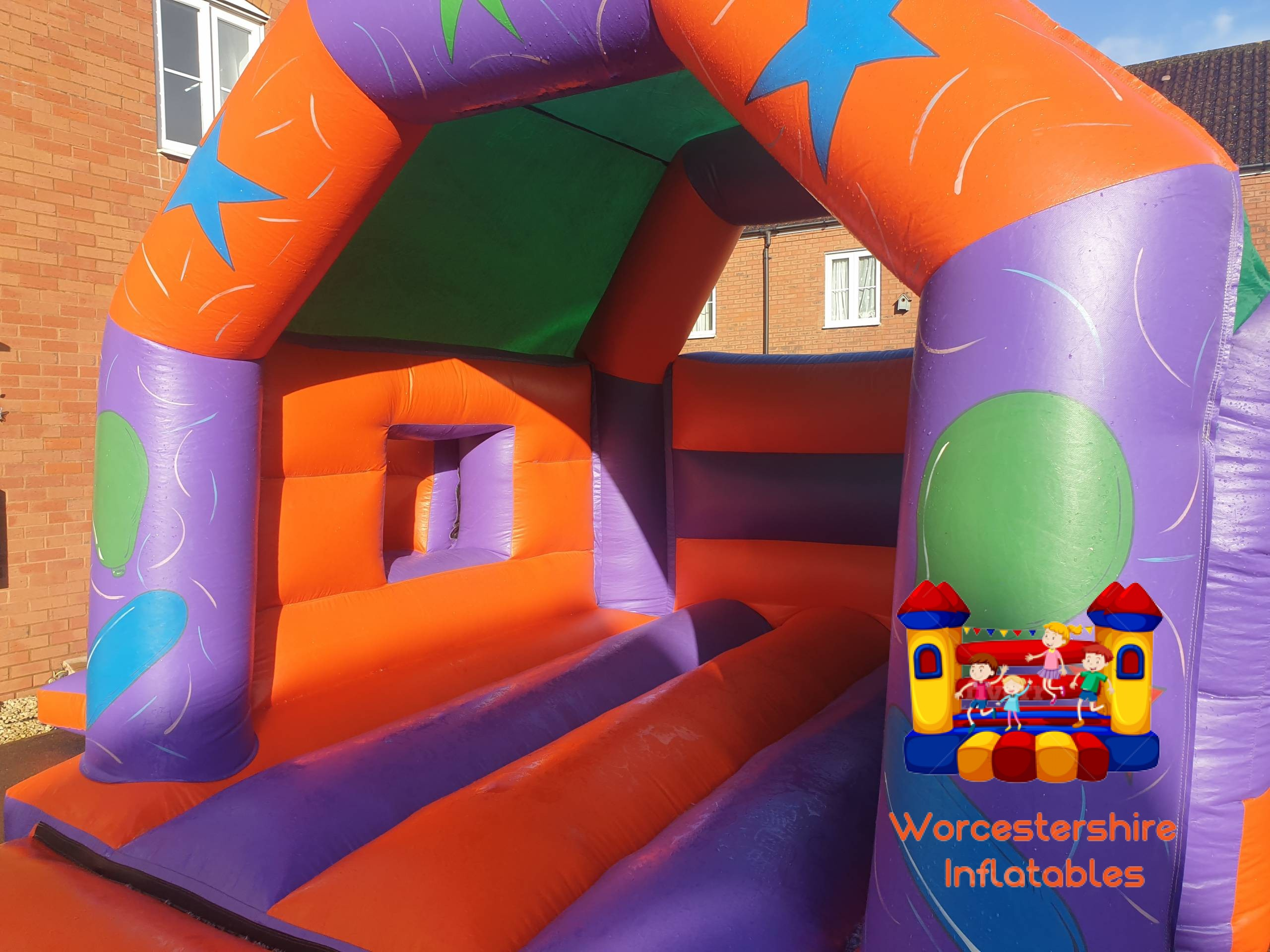 Party time Bounce and Slide 1