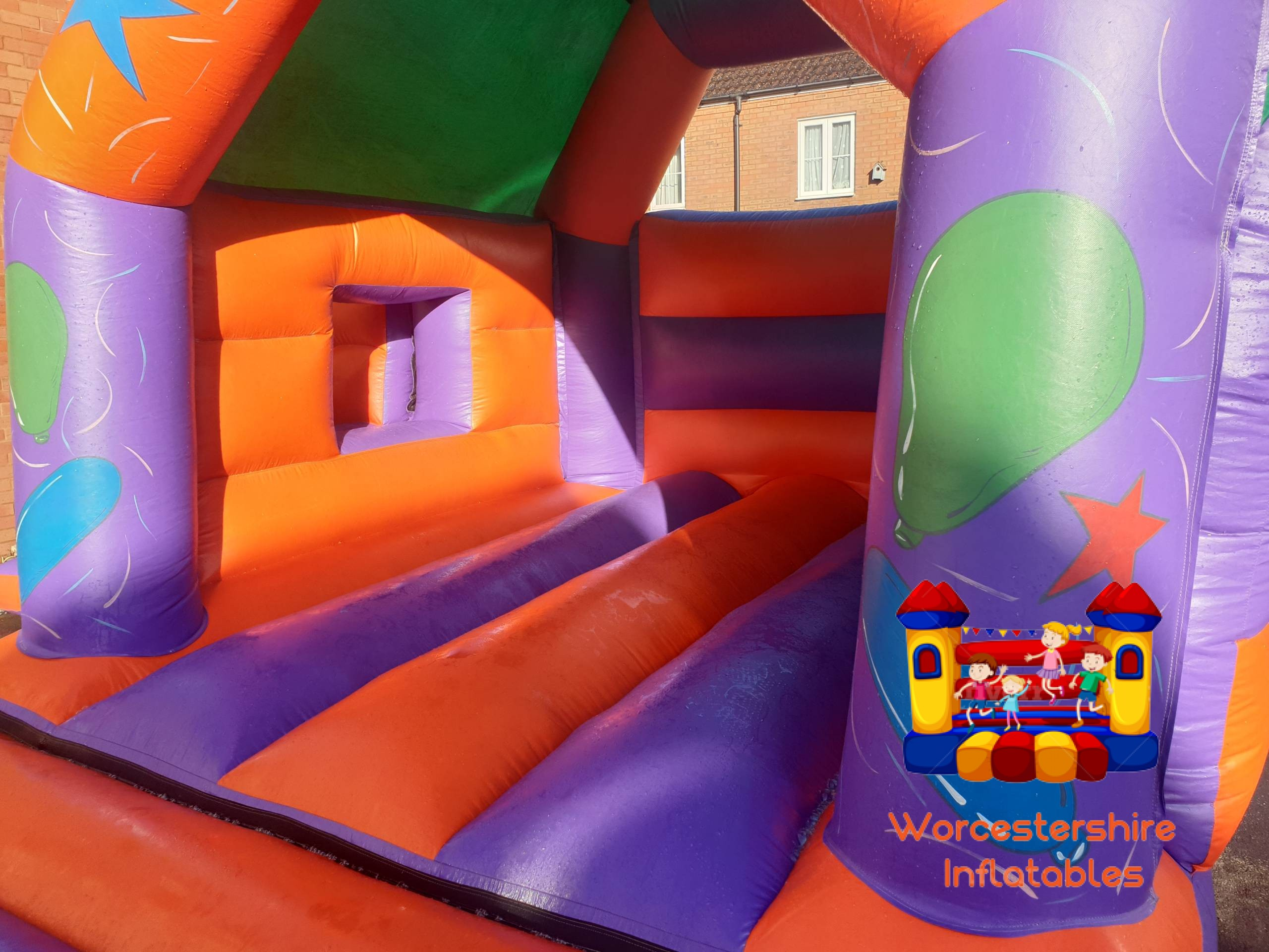 Party time Bounce and Slide 2