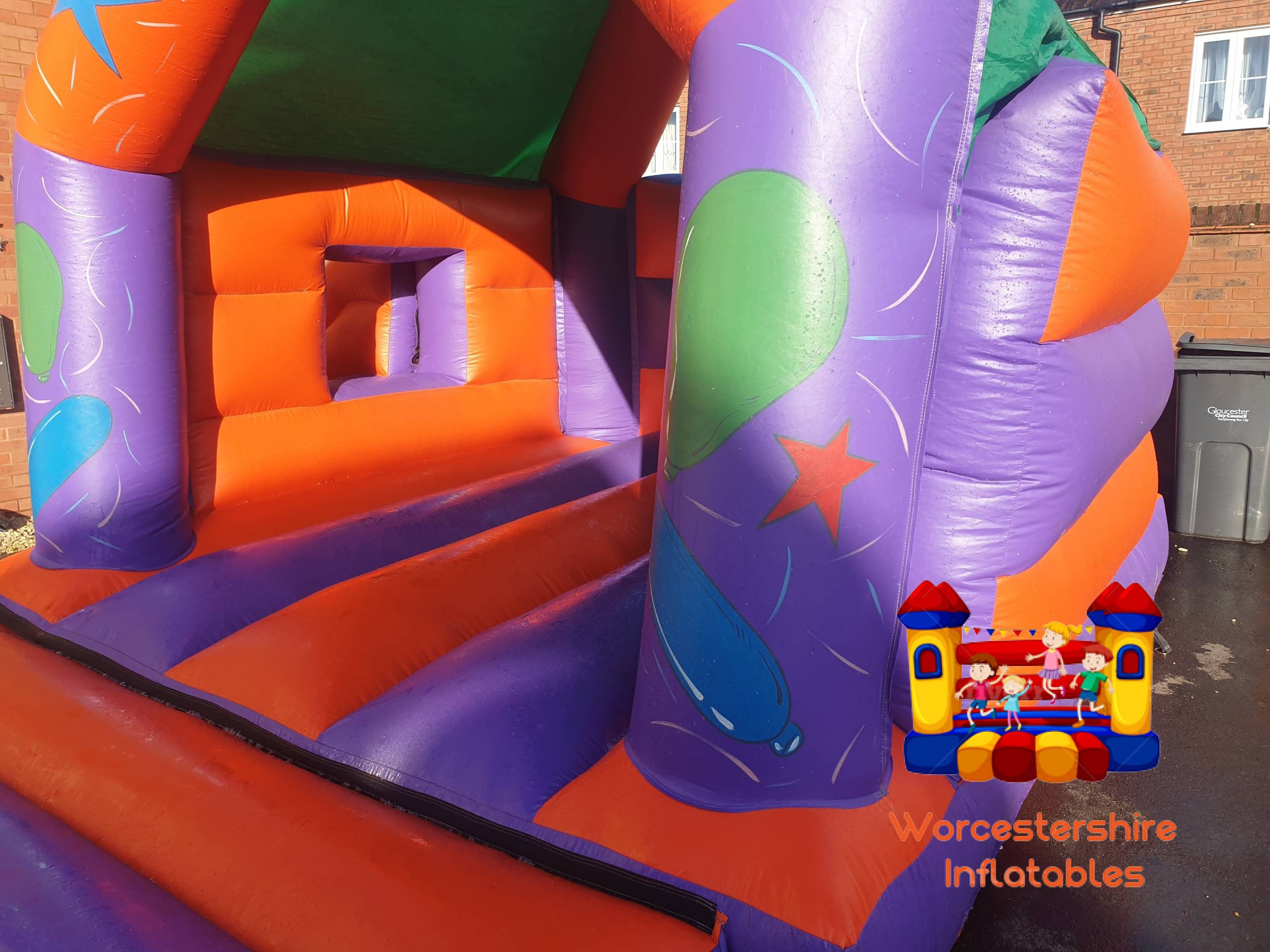 Party time Bounce and Slide 3
