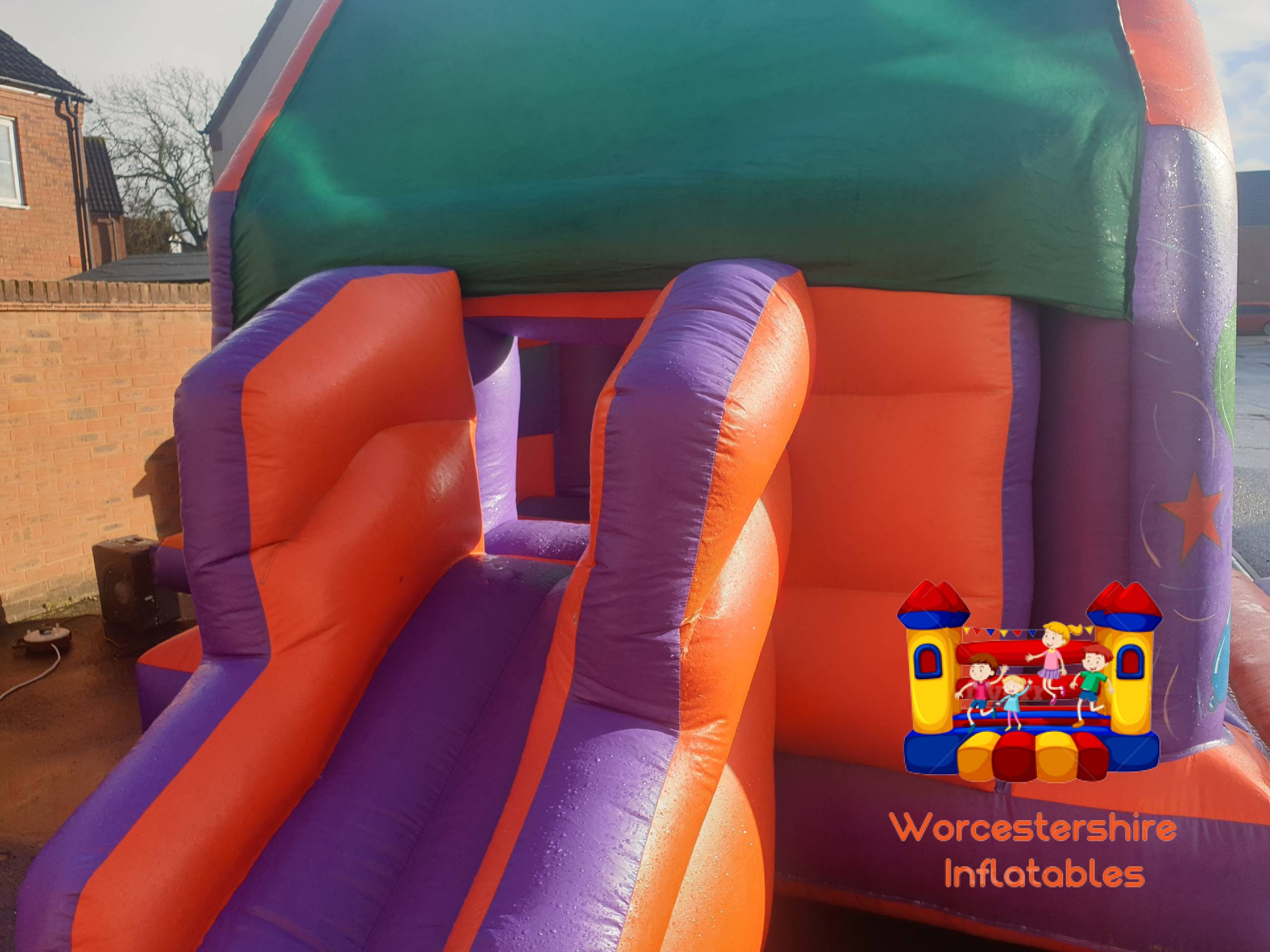 Party time Bounce and Slide 4