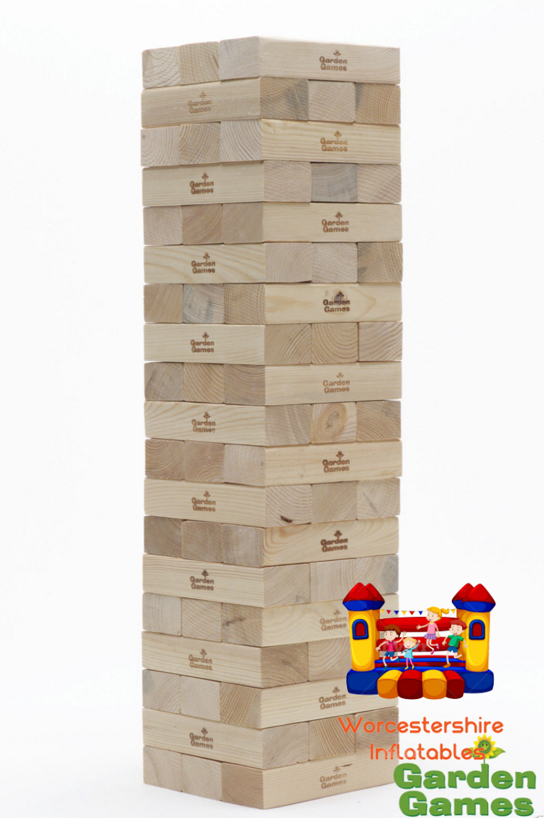 Giant Jenga - Worcestershire Inflatables