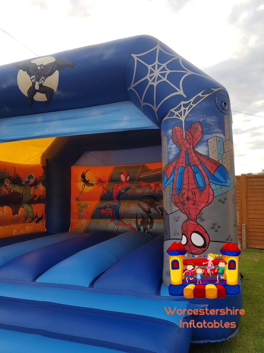Superhero Inflatable - Worcestershire Inflatables