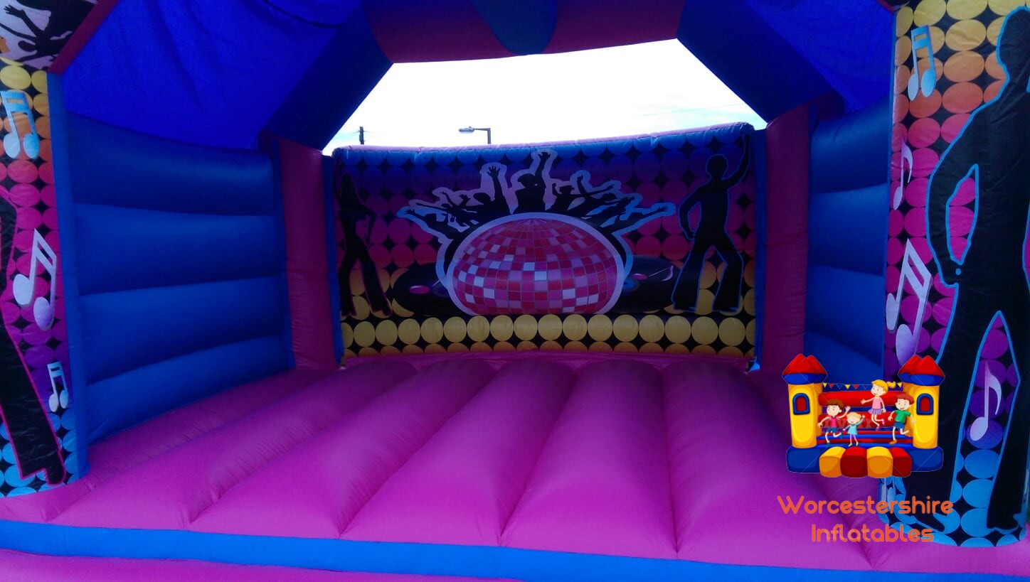adult disco castle 1 - Worcestershire Inflatables