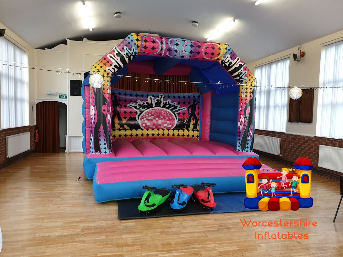 adult disco castle - Worcestershire Inflatables