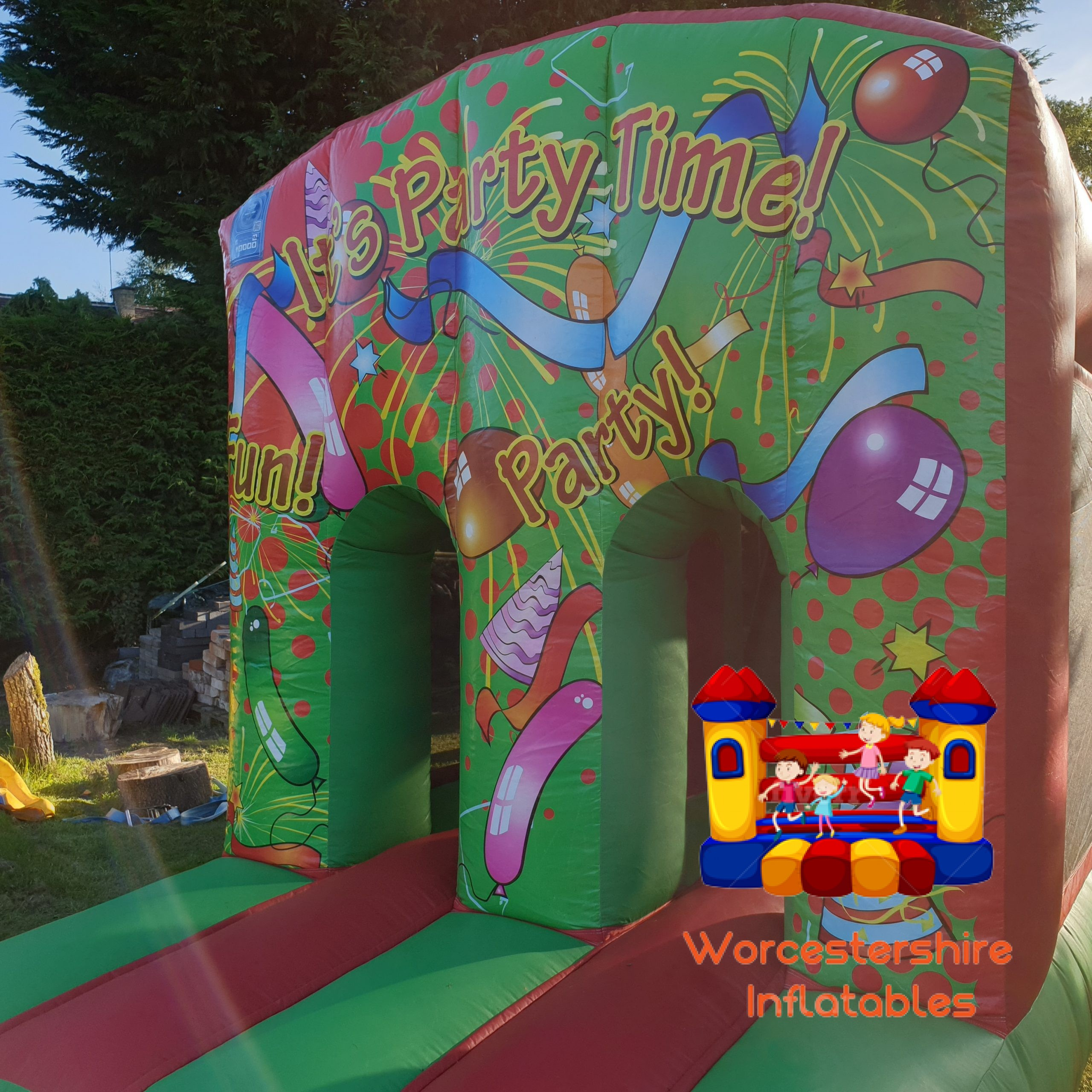 Fun Run Obstacle Course - Worcestershire Inflatables